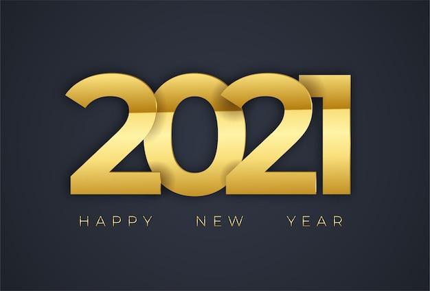 Fond de nouvel an doré