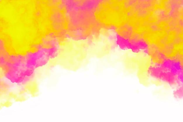 Fond de nuages colorés