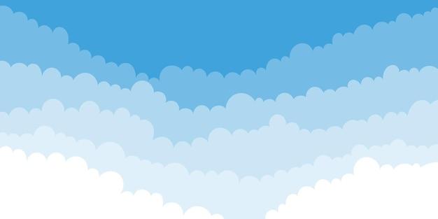 Fond de nuages