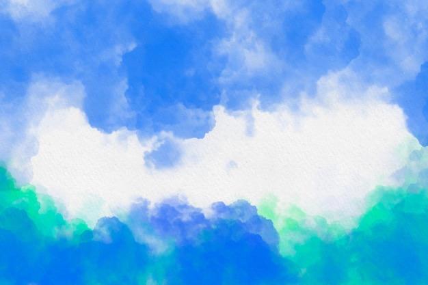 Fond nuageux
