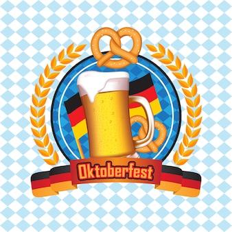 Fond de l'oktoberfest