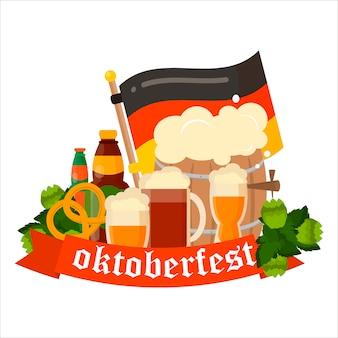 Fond d'oktoberfest