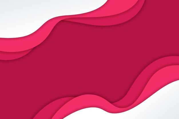 Fond ondulé dégradé rose style papier