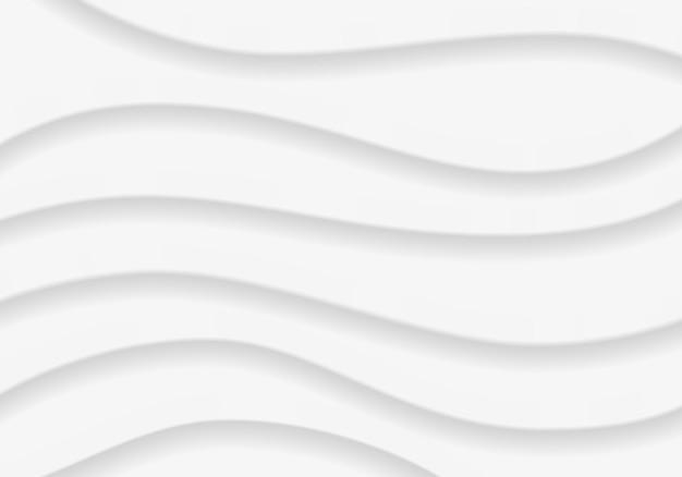 Fond ondulé, motif abstrait gris modèle de conception illustration vectorielle