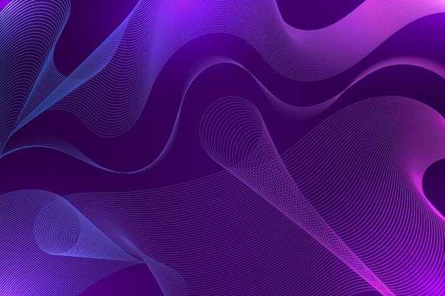 Fond ondulé violet foncé