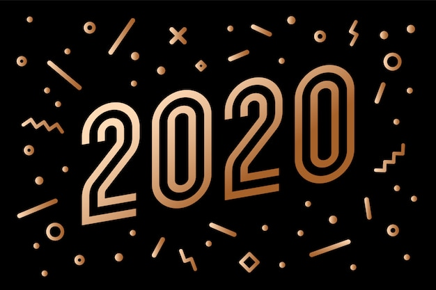 Fond d'or 2020