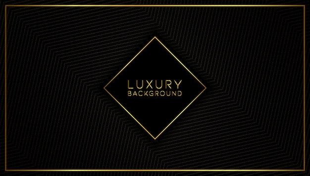 Fond d'or moderne de luxe abstrait