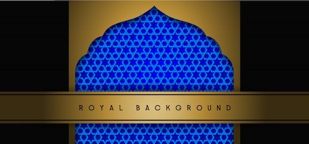 Fond d'or royal