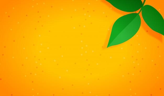 Fond orange minimaliste