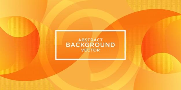 Fond orange texturé dynamique