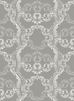 Fond d'ornement baroque de luxe