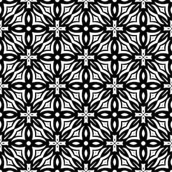 Fond d'ornement de modèle simple de deux couleurs. forme abstraite sans soudure