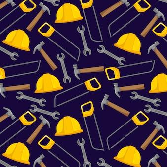 Fond d'outils de construction