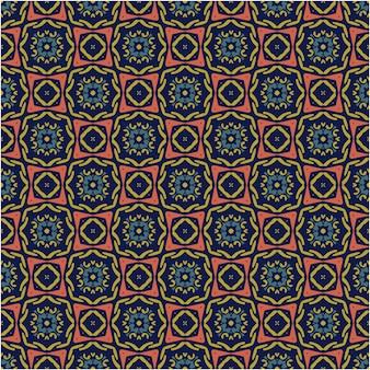 Fond de paatern sans couture mosaïque dans un style abstrait