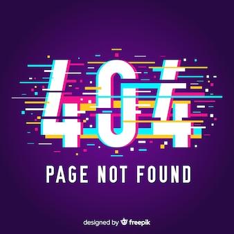 Fond de page d'erreur 404