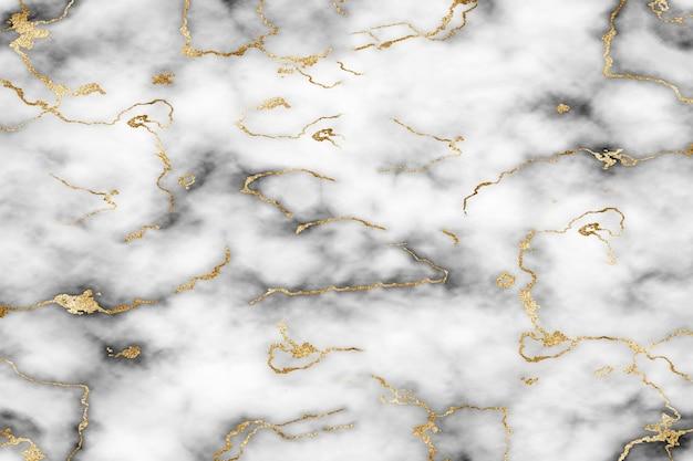 Fond de paillettes de marbre blanc