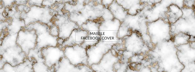 Fond panoramique de texture de marbre