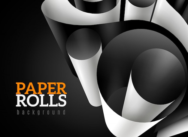 Fond de papier 3d