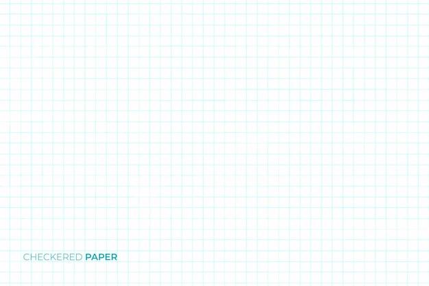 Fond de papier à carreaux