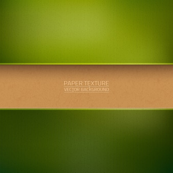 Fond de papier carton vert texturé
