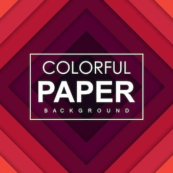 Fond de papier coloré de vecteur