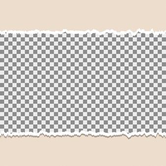 Fond de papier déchiré avec espace pour le texte