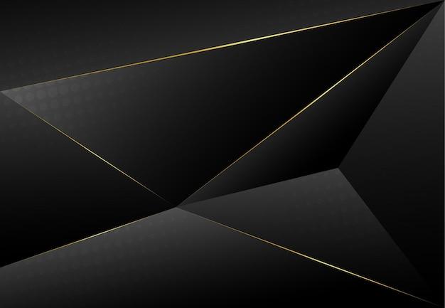 Fond de papier gris de luxe foncé moderne avec texture triangulaire en couches 3d pour site web, conception de carte de visite. illustration vectorielle