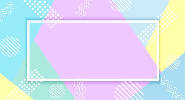 Fond de papier pastels colorés.