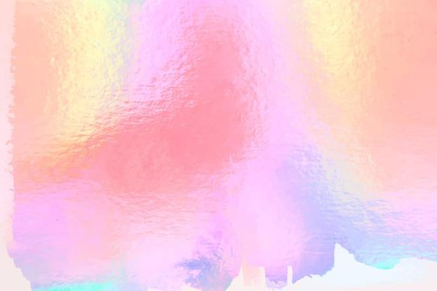Fond de papier peint holographique coloré
