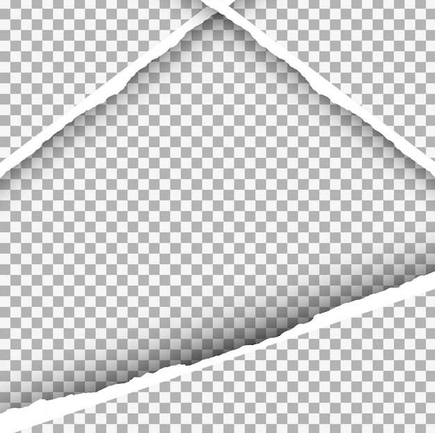 Fond de papier ripped