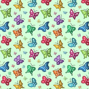 Fond de papillon