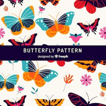Fond de papillons