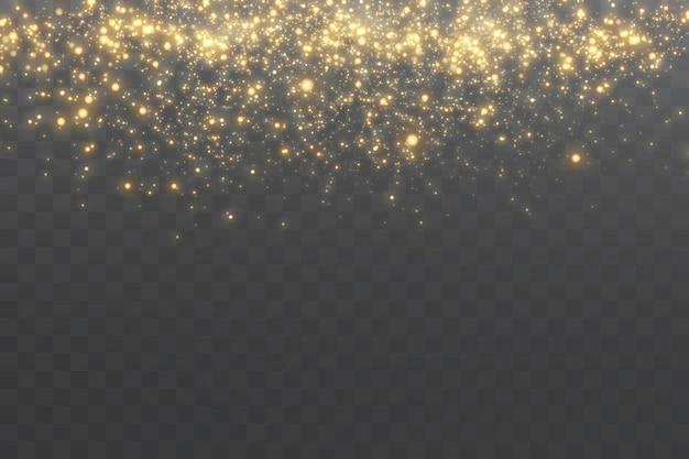 Fond de particules scintillantes