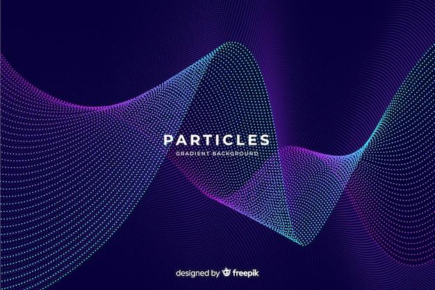 Fond de particules