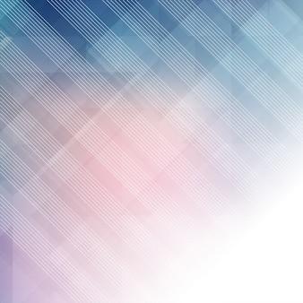 Fond pastel abstrait avec un design low poly