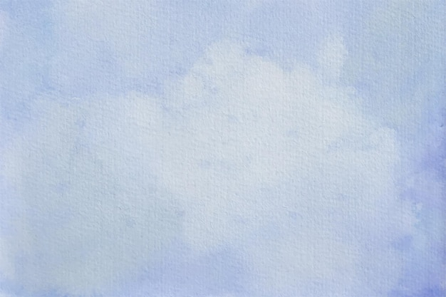Fond pastel aquarelle abstraite bleu ciel