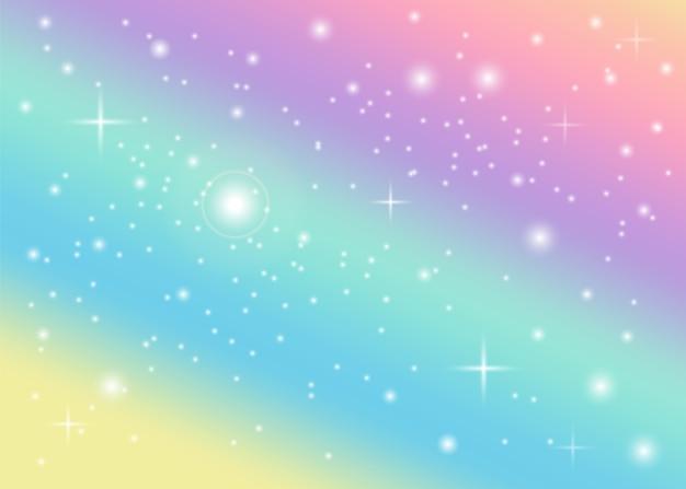 Fond pastel arc-en-ciel