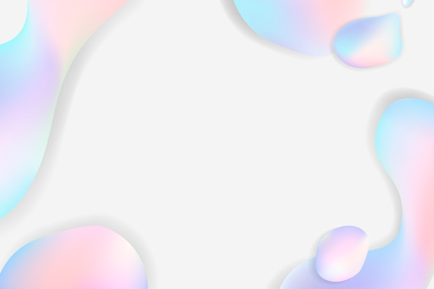 Fond pastel fluide