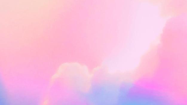 Fond pastel nuageux