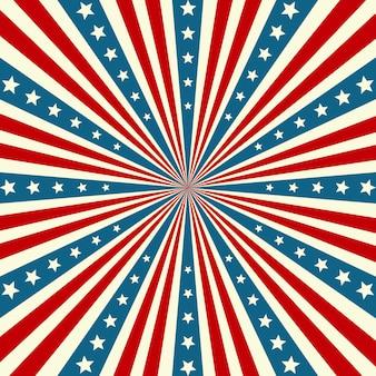 Fond patriotique de la fête de l'indépendance américaine