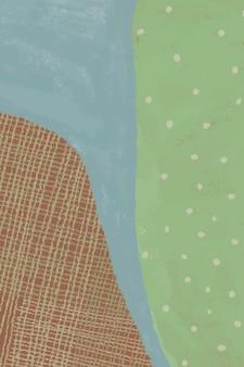 Fond de paysage abstrait