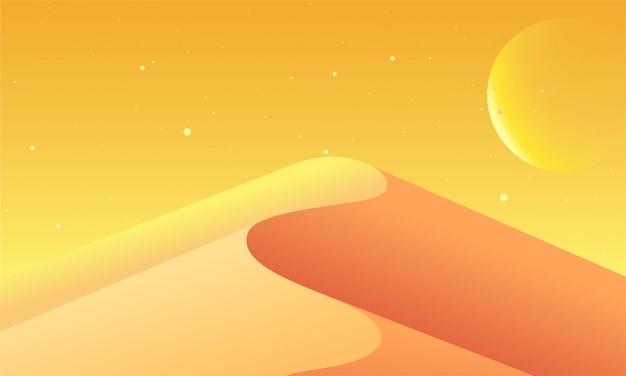 Fond de paysage coucher de soleil créatif.