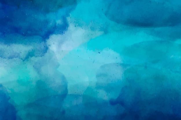 Fond Peint à L'aquarelle Abstraite Vecteur gratuit