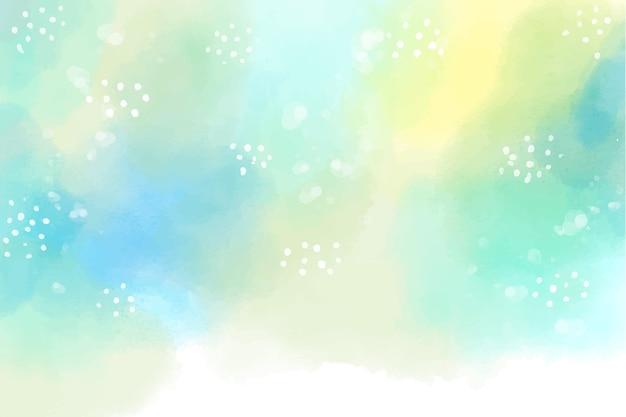 Fond peint à la main de style aquarelle