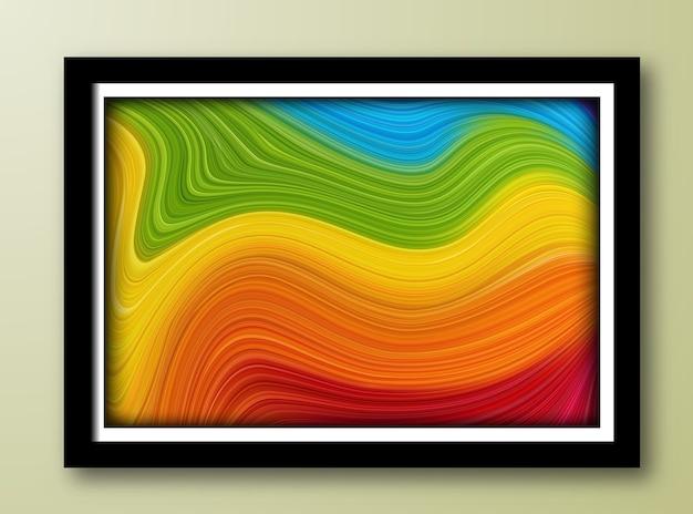 Fond de peinture abstraite