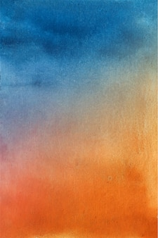 Fond de peinture aquarelle abstraite