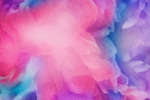 Fond de peinture aquarelle vibrante