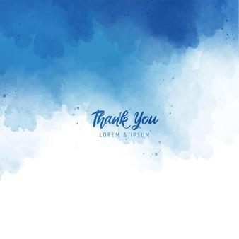 Fond de peinture splash abstrait bleu avec texture aquarelle