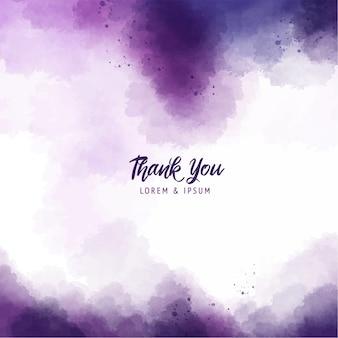 Fond de peinture splash abstrait violet avec texture aquarelle