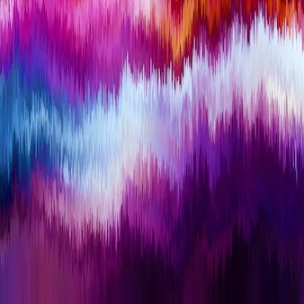 Fond de pépin. distorsion des données d'images numériques.
